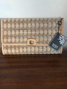 Image Is Loading Nwt Mms Design Studio Purse Handbag Clutch With