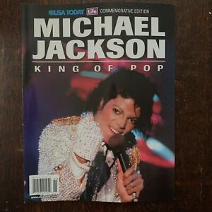 Michael Jackson King of Pop USA Today Commemorative Edition paperback very good