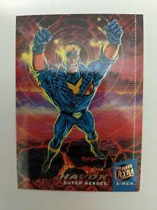 Havok 29 '94 Fleer Ultra X-Men Super Heroes Card NM/VLP