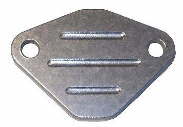 HONDA BUICK TBI V6 V8 EGR VALVE DELETE PLATE BLOCK OFF CHEVY LT1 Billet Aluminum