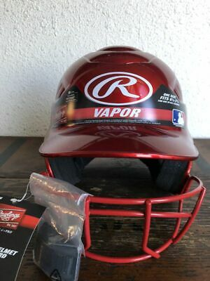 Baseball Red Batter's Helmet Face Vapor Guard by Rollins fits:61/2-71/2 83321419577 | eBay