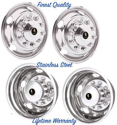 """GMC 3500HD Dually Wheel Simulators 19.5/"""" Chevy"""