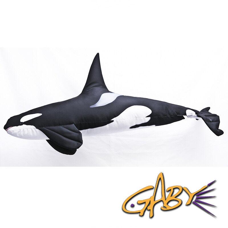 Orca Kissen (Orca Pillow) - Gaby Kuscheltier 118 cm  | Neuer Eintrag