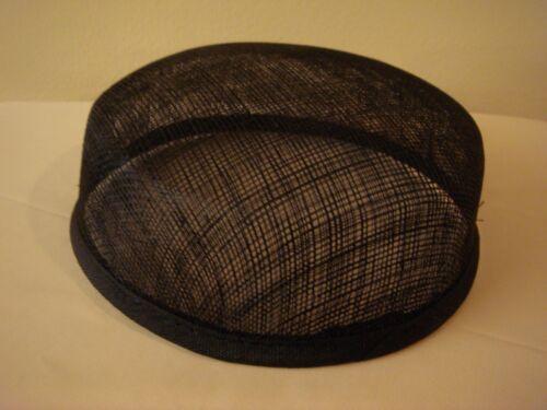 Black Larger Pillbox Hat Base for Dance Costumes