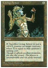 Living Armor X4 EX/NM Chronicles MTG Magic Cards Artifact Common