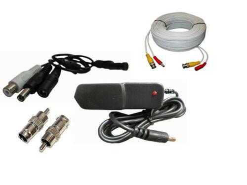"CCTV SPY Mini Microphone Security Camera RCA Output 25/"""