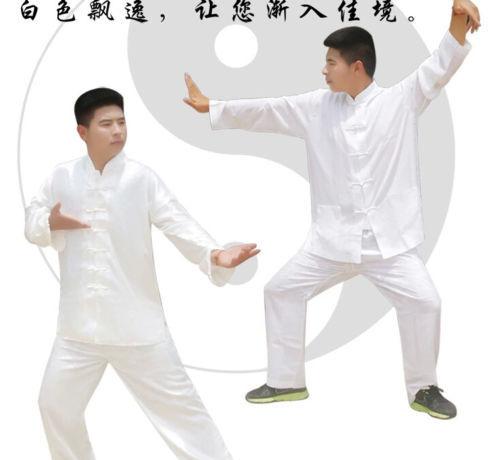 hot sell Hot China Tai chi Motion Martial Arts Clothing Jacket + pants Kimono Kung fu Set for cheap