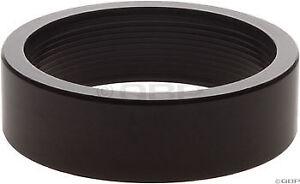 New Wheels Manufacturing 5mm 1-1//8 Headset Spacer Black Bag//5