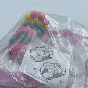 MCDONALDS-HAPPY-MEAL-TOY-2019-SHOPKINS-CUTIE-CARS-Speedy-Sparkle-NEW-amp-SEALED