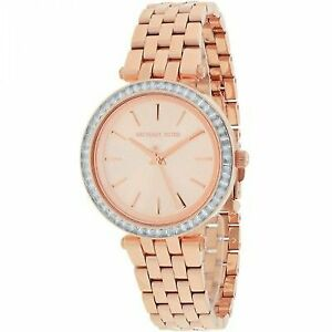 2689448973aa Rose Gold Michael Kors Watch MK3366 796483142343 for sale online