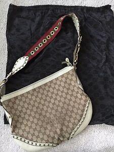 Image Is Loading Gucci Large Pelham Messenger Bag