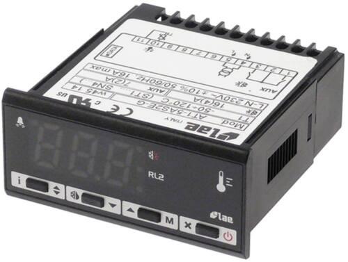 LAE ELETTRONICA AT1-5AS2E-G Elektronikregler Anzeige 3-stellig Einbautiefe 70mm