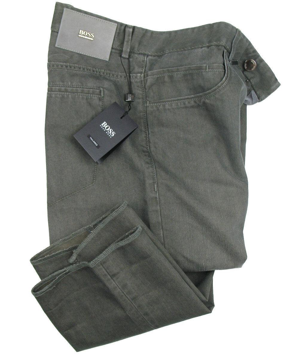 BOSS TAILGoldt Jeans TRUMAN in W33 L34 ( Regular Fit ) dunkelbeige 40% SEIDE