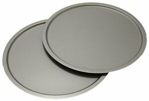 Ovenstuff Non Stick 12 Inch Pizza Pan Two Piece Set New