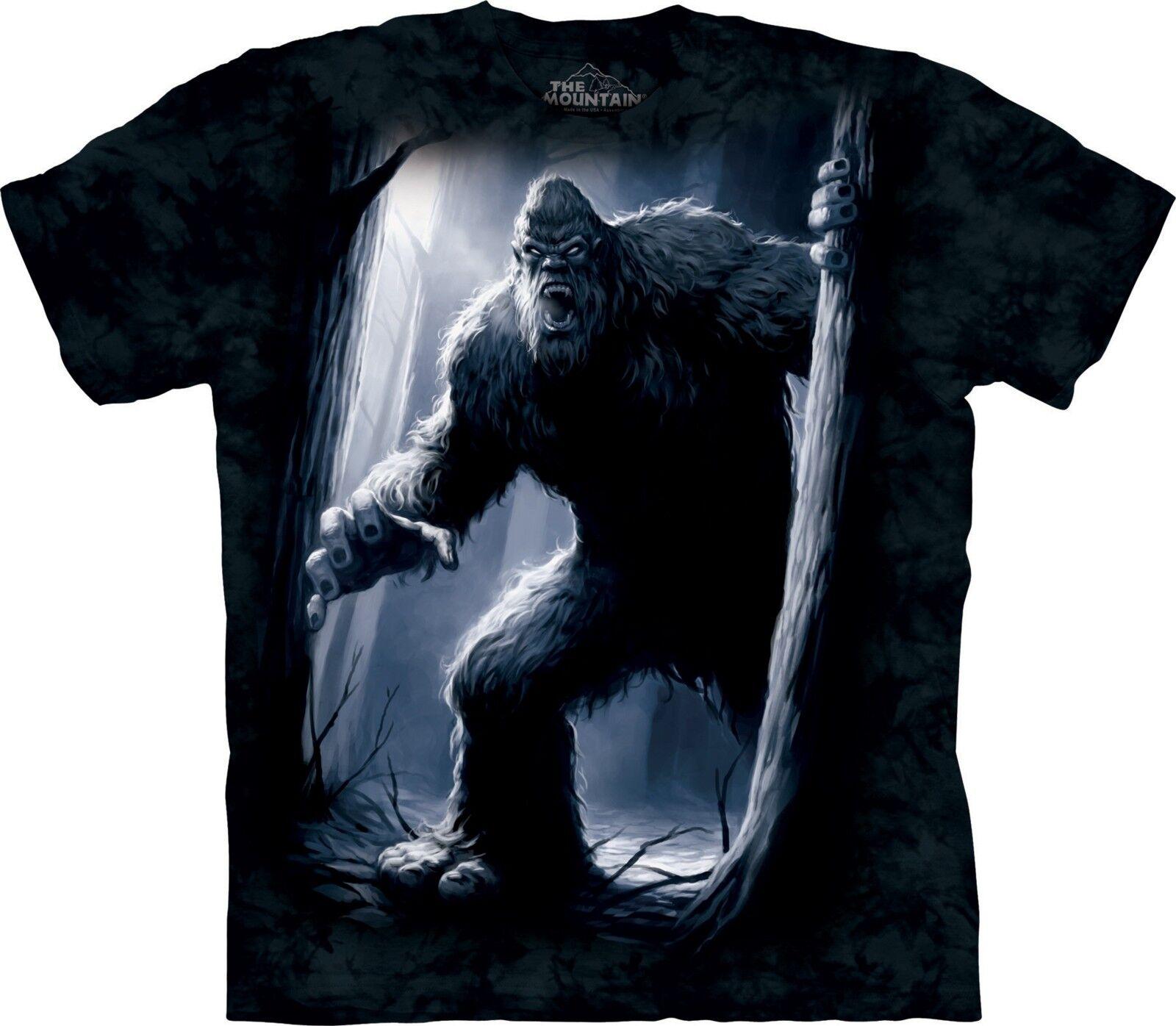Sasquatch Fantasy T Shirt Adult Unisex The Mountain Skulbone