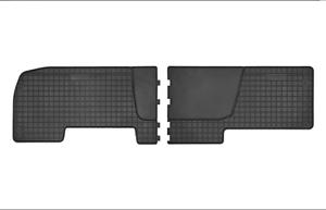 Gummimatten Fußmatten Matten 2-tlg Renault Trafic II 2-Reihe ( 2001-2014) 546146