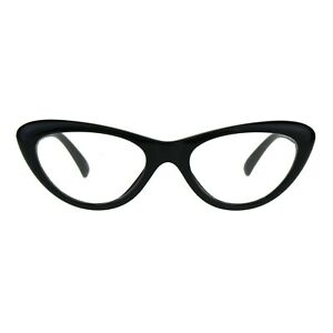 6bf08765192 Image is loading Womens-Low-Cateye-Eyeglasses-Lollita-Fashion-Clear-Lens-