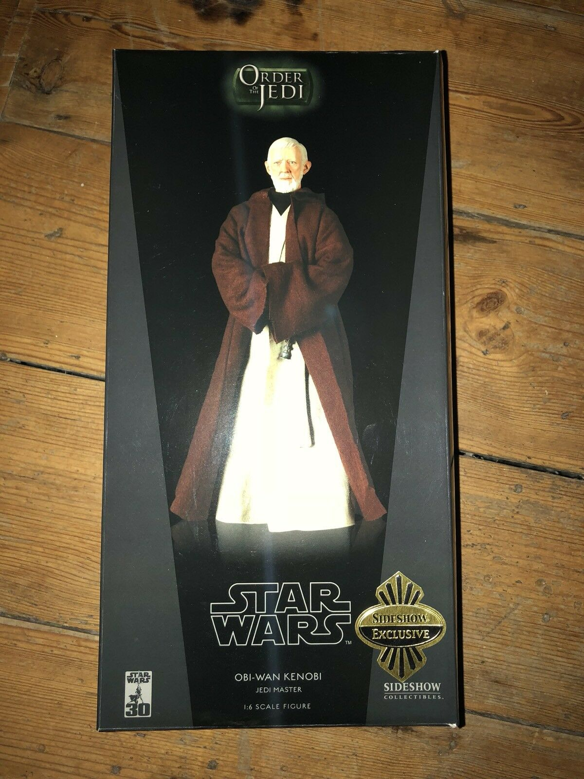 Sideshow orden de los Jedi de Star Wars Obi Wan Kenobi Jedi Master exclusiva SSC238