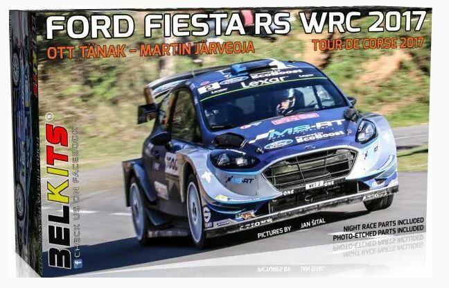 Belkits 1 24 Ford Fiesta Rs WRC WRC WRC 2017 - Tour De Corse Ott Tanak - Martin Vasetto 9809f1