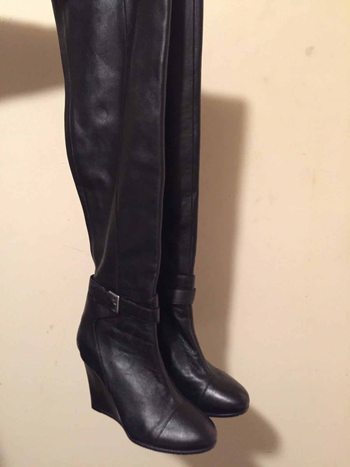 Kelsie Dagger genuine Leder tall boots sz 8