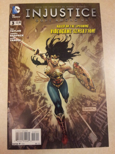 Injustice Year One #3 First Print Unread High Grade New 52 Taylor Miller