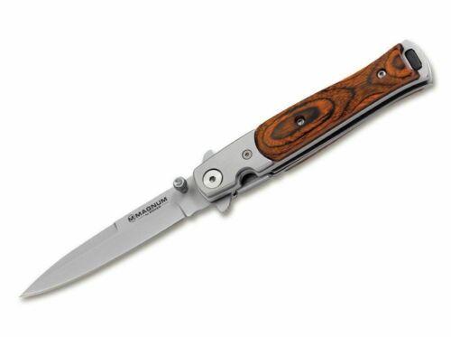 Magnum Taschenmesser Stiletto Linerlock 440A