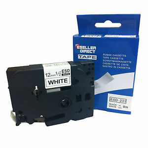 Compatible-Label-Tape-TZ231-Tze231-12mm-x-8m-for-Brother-P-Touch-Black-On-White