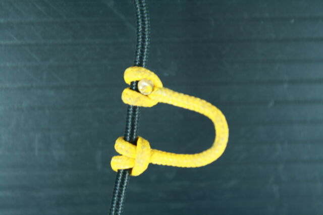1,2,5,10  Yellow D Loop BCY #24 Rope Archery Release Bowstring Bow String