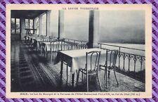Tarjeta Postal El lago du bourget et la terraza de l'hôtel restaurantes Palatino