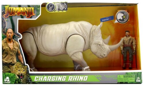 Jumanji Charging Rhino Figure Set with Sound