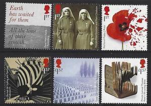 GREAT-BRITAIN-2017-WORLD-WAR-1-1917-SET-OF-6-UNMOUNTED-MINT-MNH