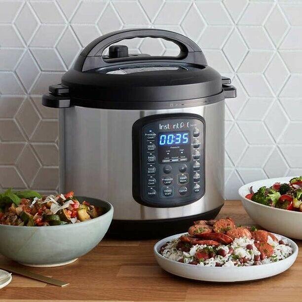 Instant Pot DUO SV 6-Quart 9-in-1 Multi-Use Pressure Cooker