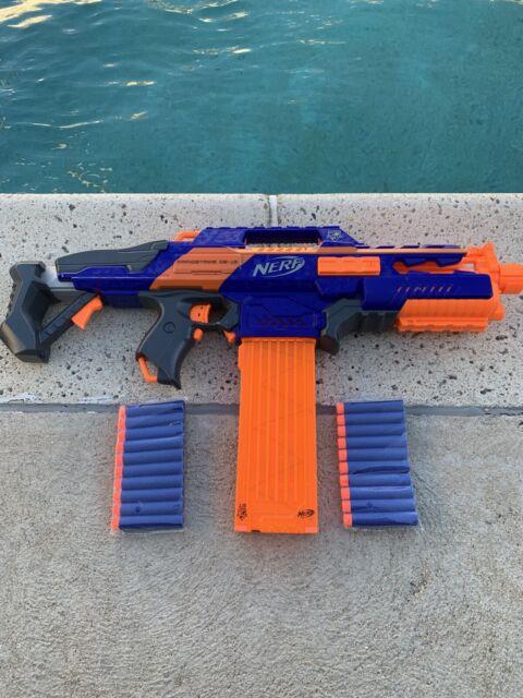 Nerf N Strike Elite Rapidstrike Cs 18 Blaster I3224r For Sale Online Ebay