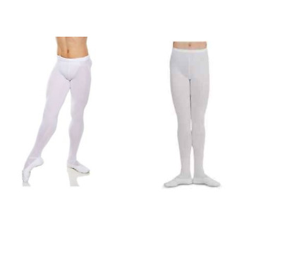Black men/'s  MT11 MT10 footed dance tights All sizes