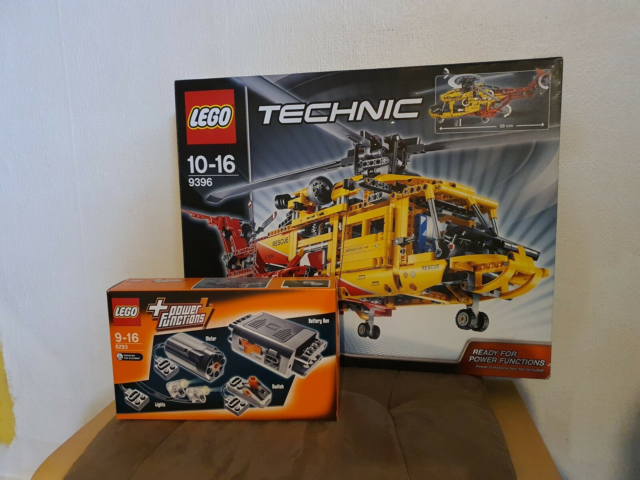 Lego Technic, 9396, Lego technic model 9396 rescue…