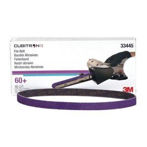½ x 18 60+ Grade Cubitron II File Belt 3M-33445 Brand New!
