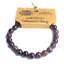 miniature 2 - Gemstone Beaded Power Bracelet Crystal Healing Protection Wealth Beneficial