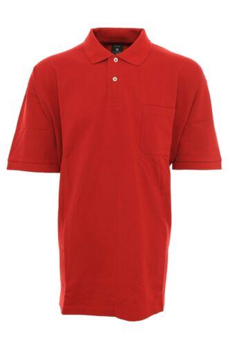 Kitaro Polo Shirt Men/'s short-Sleeved Pique plus Size S TO 10XL