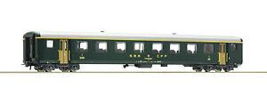 Roco-H0-74560-Schnellzugwagen-EW-II-1-Klasse-der-SBB-NEU-OVP
