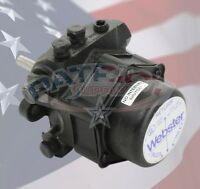Webster 22r623d-5aa14 Two Stage Oil Pump 56 Gph 300 Psi 3450 Rpm