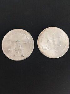 Mexico Onza Troy Ounce Of Silver 925 1980 Mint Ebay
