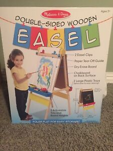 Details About Melissa And Doug Easel Double Sided Wooden Easel Model 9330