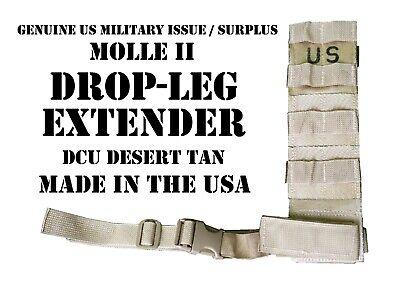 US Army Bianchi Bein Holster Leg Panel  MOLLE II Modular Accessory Panel NEU