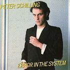 Error in the System [Bonus Tracks] by Peter Schilling (CD, Jul-2016, Cherry Red)
