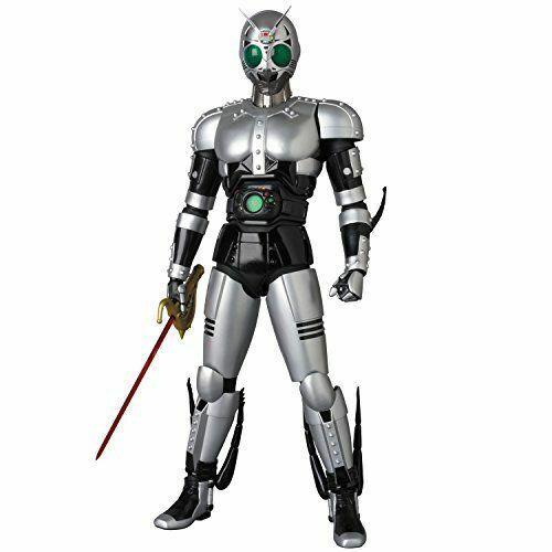Medicom Toy Rah Dx No.745 Mascherato Kamen Rider negro Shadow Luna Versione 2.0
