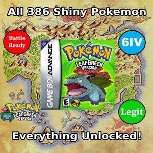 Pokemon leaf green 386 pokemon locations