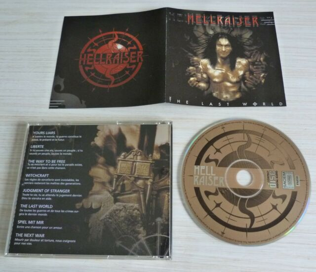 RARE CD ALBUM HELLRAISER THE LAST WORLD 8 TITRES