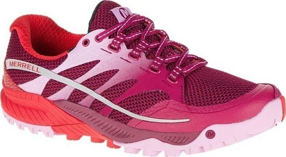 Merrell All Out Charge femmes Trail Running chaussures - rouge