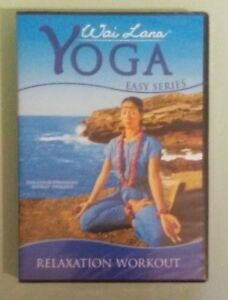 wai lana yoga easy series relaxation workout dvd new  ebay
