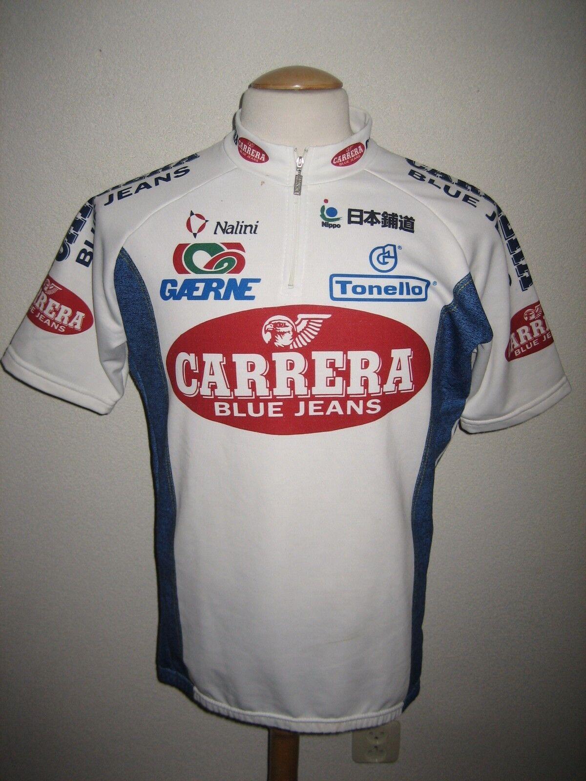 Carrera Jeans  vintage 90's jersey shirt cycling trikot maglia size 6, XL